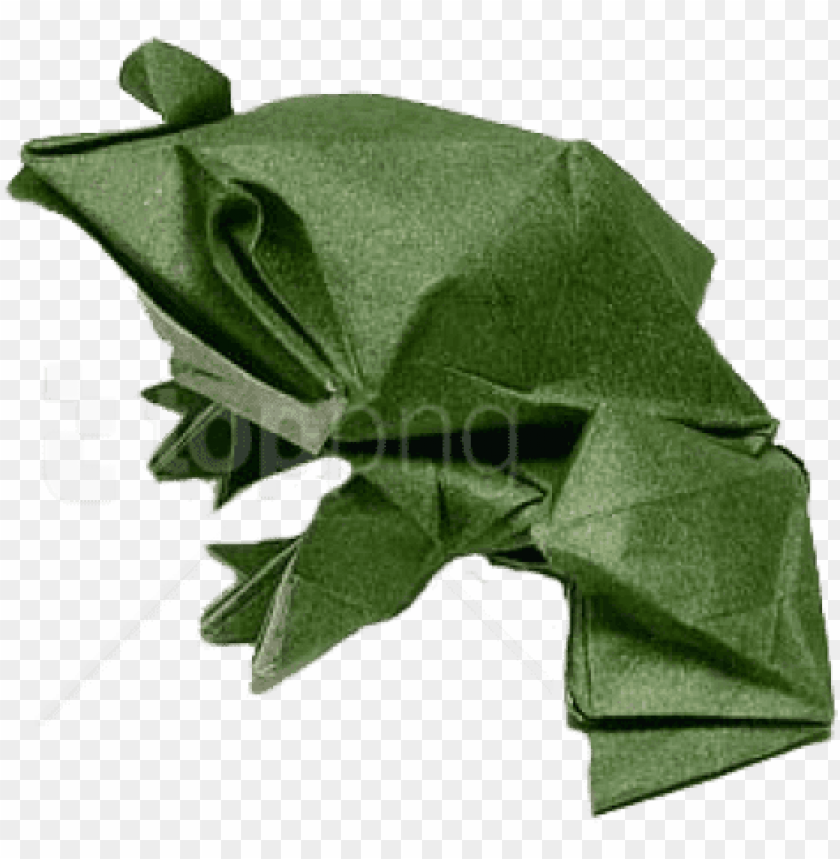 free PNG free png origami frog png images transparent - transparent background origami transparent PNG image with transparent background PNG images transparent