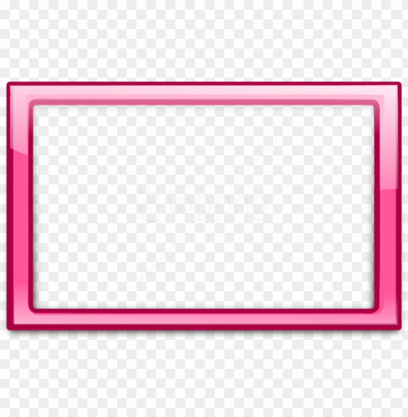 free png pink border frame 6 png - pink border frame PNG image with transparent background@toppng.com