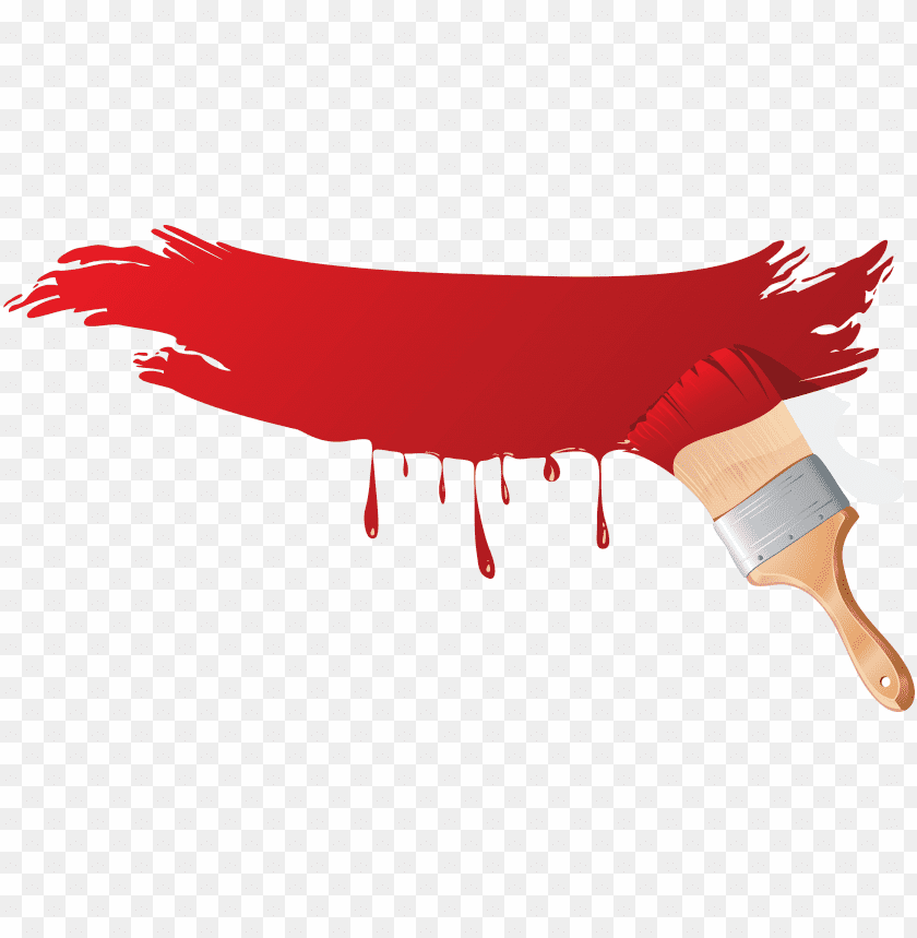 free PNG Download Red Paint Brush png images background PNG images transparent