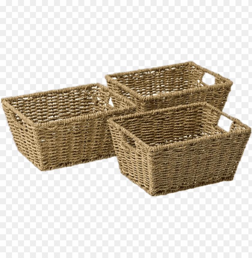 free PNG Download Set Of Storage Baskets png images background PNG images transparent