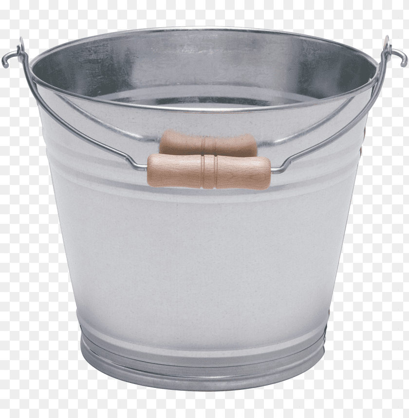 free PNG Download Silver With Wood Bucket png images background PNG images transparent
