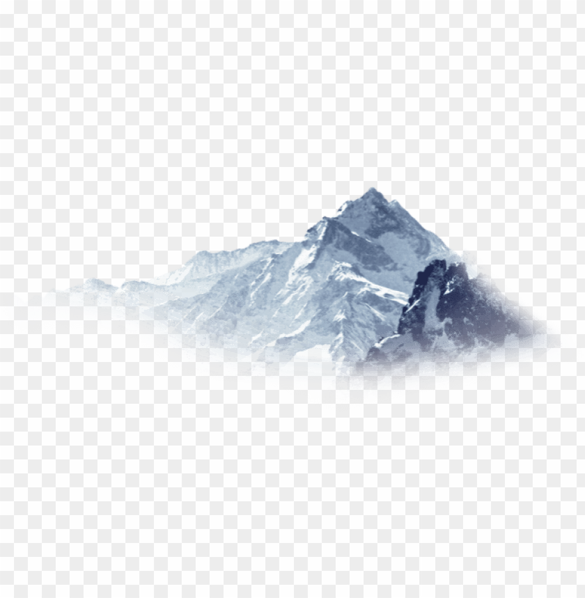 free PNG free png snowy mountain png images transparent - snow mountain PNG image with transparent background PNG images transparent