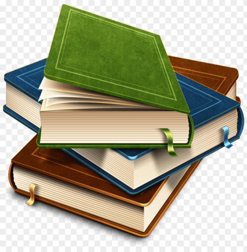 سكرابز كتب للتصميم Free-png-stack-of-beautiful-books-png-11519801442pp41gkumnn