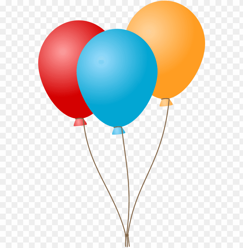 free PNG Download Three Flat Balloons png images background PNG images transparent