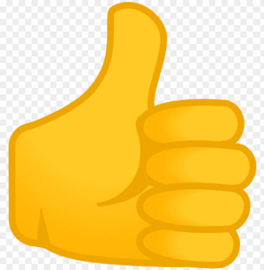 free PNG free png thumbs up emoji android 8 oreo png images - pulgar arriba emoji PNG image with transparent background PNG images transparent