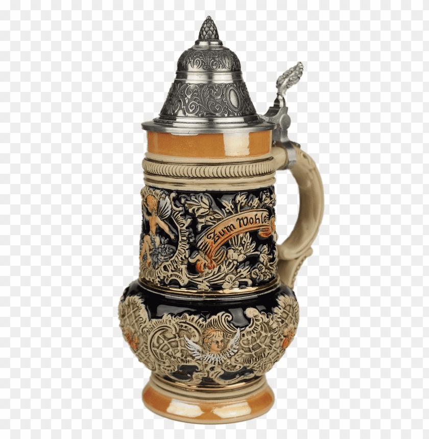 free PNG Download Traditional German Beer Mug png images background PNG images transparent