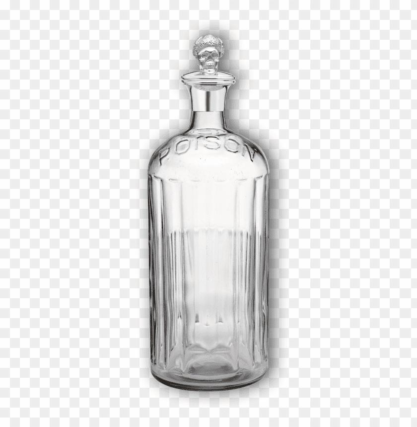 free PNG Download Vintage Poison Empty Bottle png images background PNG images transparent