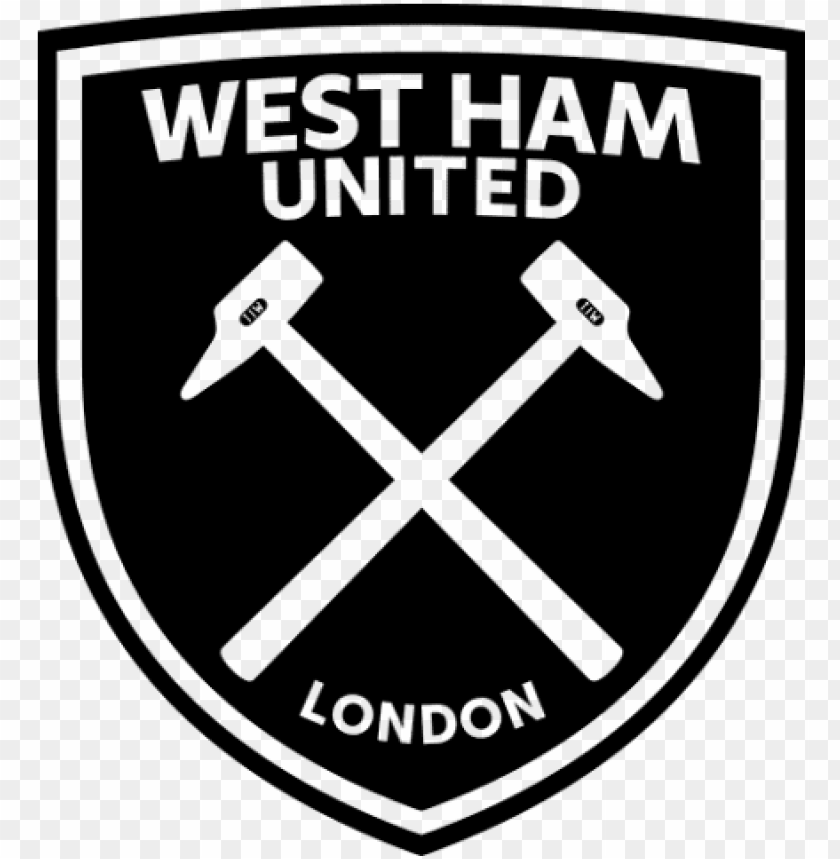 free png west ham united fc logo png png images transparent - logo west ham united PNG image with transparent background@toppng.com