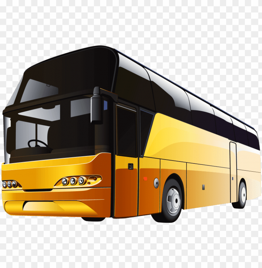 free PNG free png yellow bus png images transparent - yellow bus PNG image with transparent background PNG images transparent