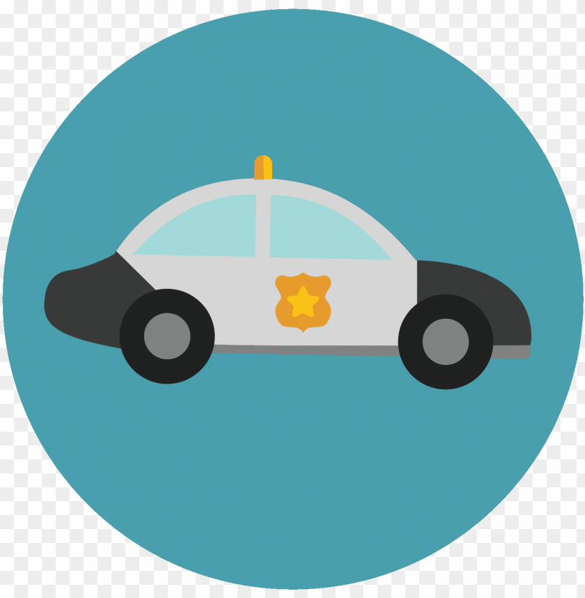 free PNG free police car icon - police car icon circle png - Free PNG Images PNG images transparent