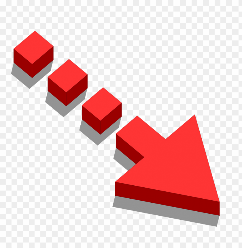 free PNG free red arrow 3d png  PNG image with transparent background PNG images transparent