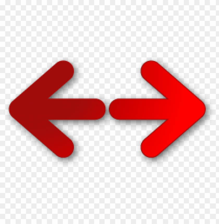 free PNG red arrow left right png PNG image with transparent background PNG images transparent