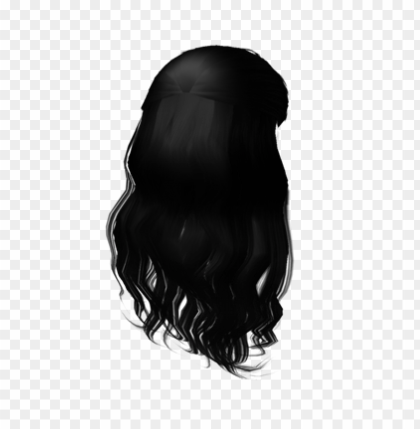 free PNG free roblox hair black PNG image with transparent background PNG images transparent