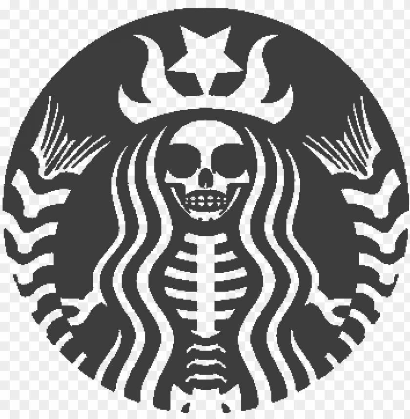 Free Starbucks Logo Png Transparent Starbucks Skull Png Image With Transparent Background Toppng