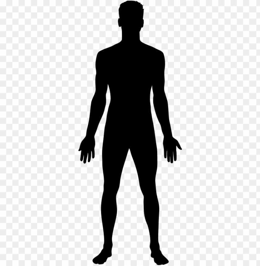 free PNG free thinkingboy outline free man shape - human body silhouette PNG image with transparent background PNG images transparent