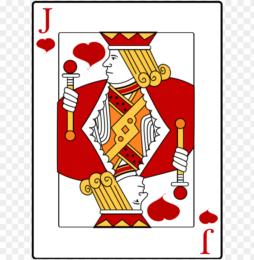 free PNG free to use public domain playing cards clip art - jack of heart card PNG image with transparent background PNG images transparent