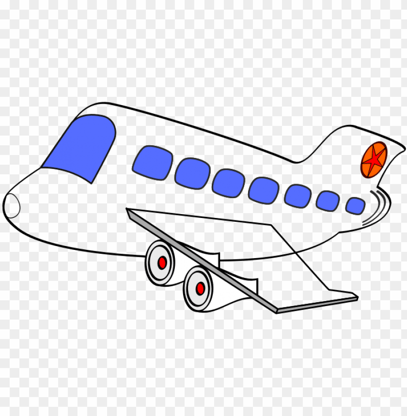 free PNG free transport clipart - transparent background airplane cartoo PNG image with transparent background PNG images transparent
