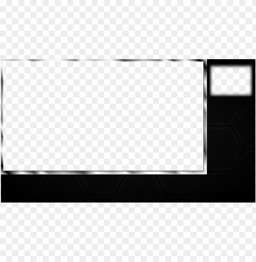 free PNG free twitch overlays black with webcam free twitch - twitch.tv PNG image with transparent background PNG images transparent