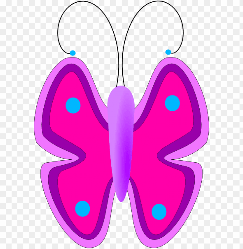 free PNG free vector butterfly clip art - free butterfly clipart for kids PNG image with transparent background PNG images transparent
