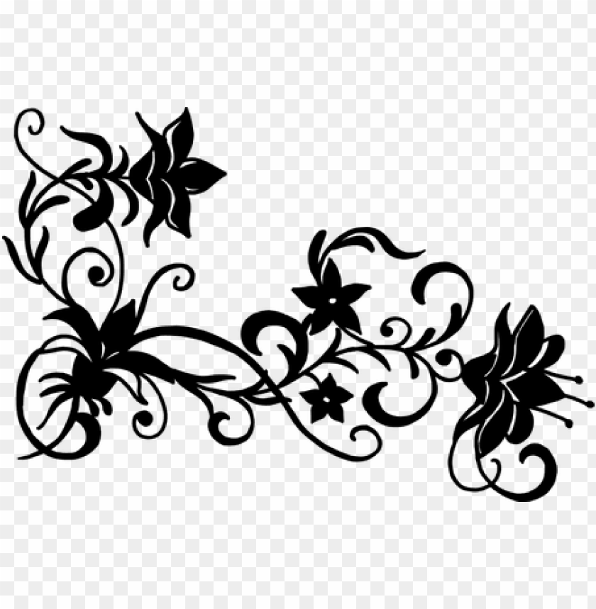 free PNG free vector flowers black and white » 4k pictures - floral vector png black and white PNG image with transparent background PNG images transparent