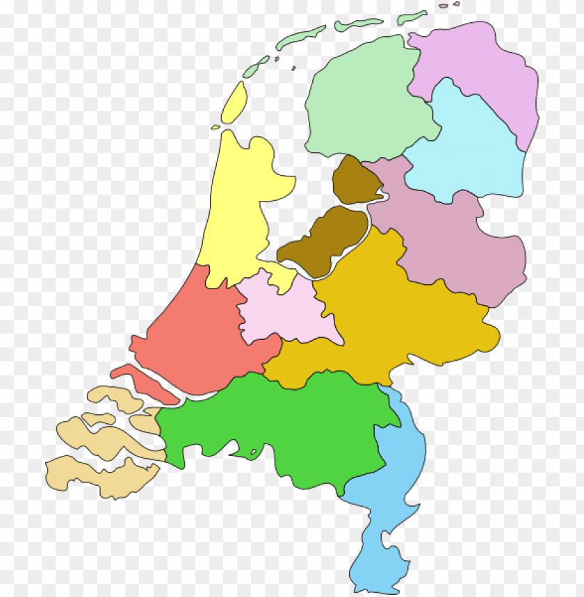 free PNG free vector netherland nederland map clip art - netherlands ma PNG image with transparent background PNG images transparent
