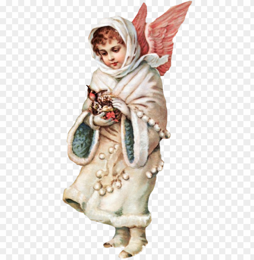 Free Victorian Snow Angel Clipart Victorian Snow Angel Png Image With Transparent Background Toppng
