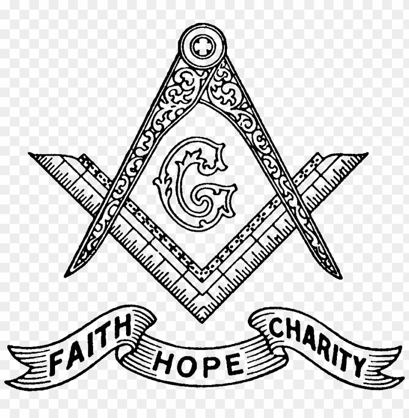 free PNG freemasonry symbol faith hope charity PNG image with transparent background PNG images transparent
