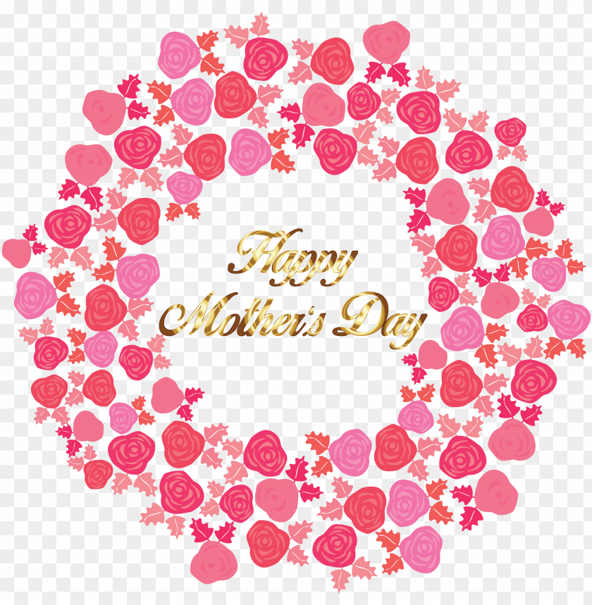 free PNG freeof a gold happy mothers day greeting in - happy mothers day poster PNG image with transparent background PNG images transparent