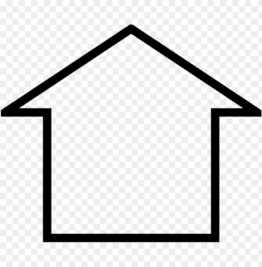 free PNG freesimple house icon objects - simple house icon png - Free PNG Images PNG images transparent