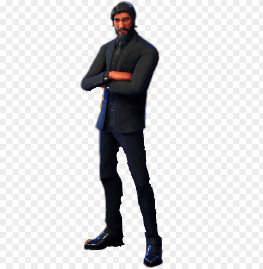 Freetoedit Johnwick John Wick Transparent Fortnite Png Image With Transparent Background Toppng