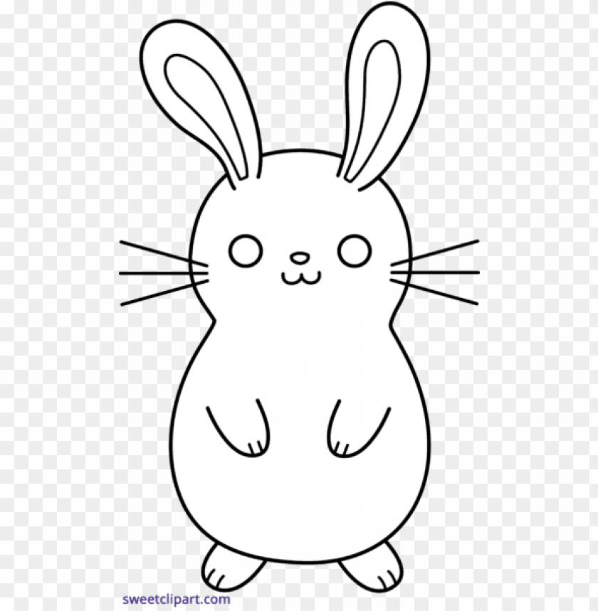 free PNG freeuse download bunny clipart black and white - bunny clipart cute black and white PNG image with transparent background PNG images transparent