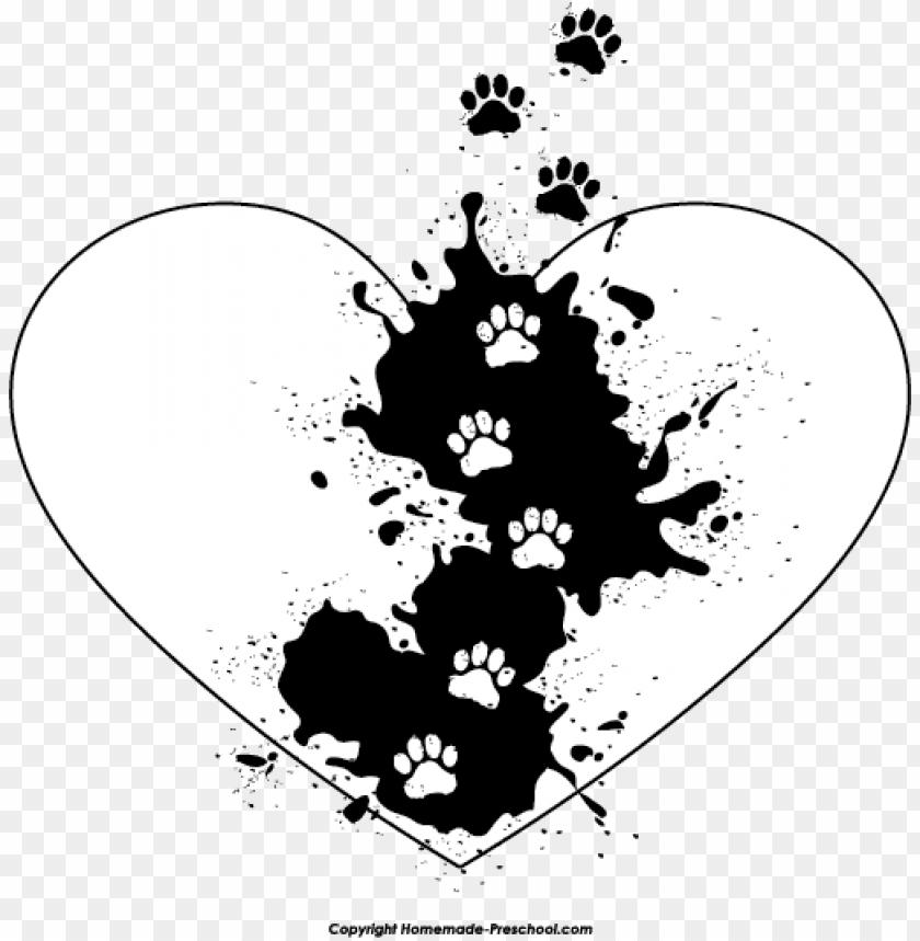 Best Photos of Paw Print Stencil Printable Free - Dog Paw Print ... -  ClipArt Best - ClipArt Best | Dog paw art, Paw art, Dog paw print art