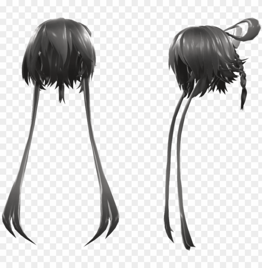 Freeuse Tda Luo Tiany Hair Mmd Luo Hair Dl Png Image With Transparent Background Toppng