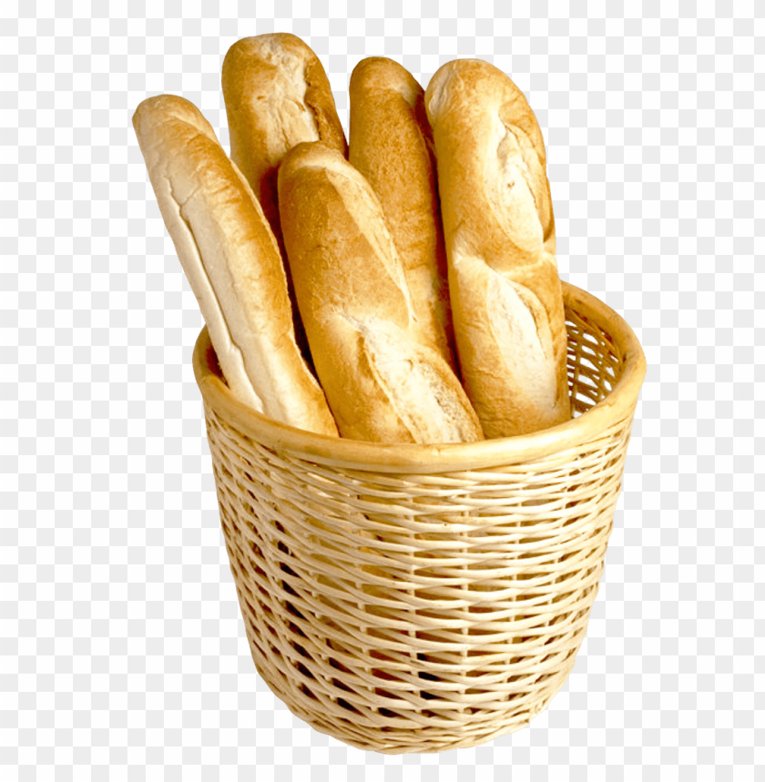 free PNG Download french bread in basket png images background PNG images transparent