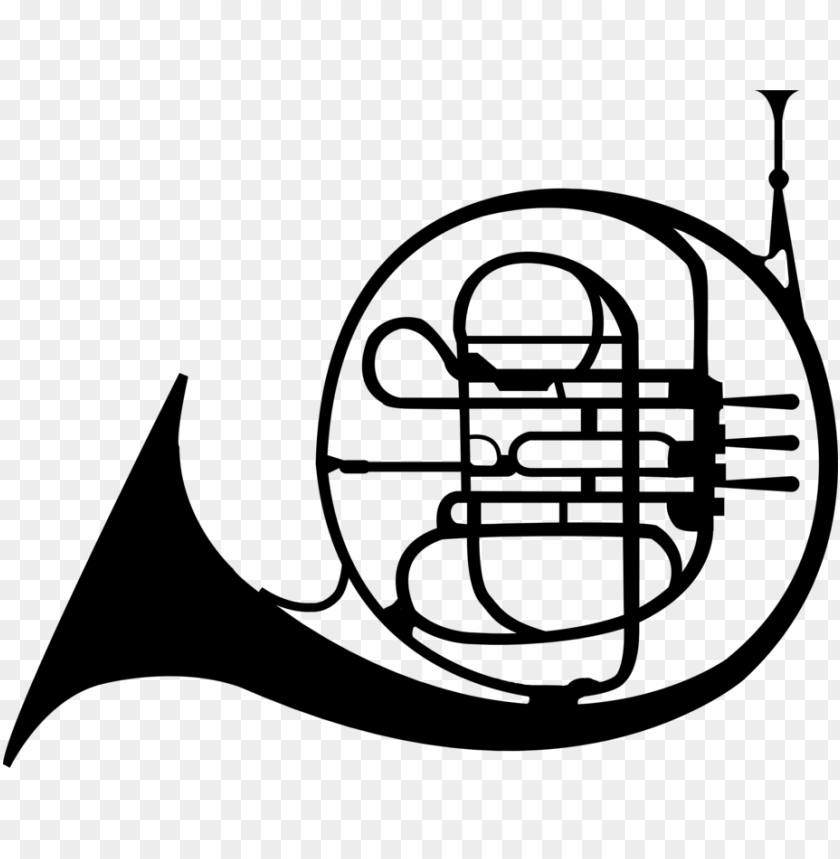 free PNG french horns mellophone trumpet - mellophone clipart PNG image with transparent background PNG images transparent
