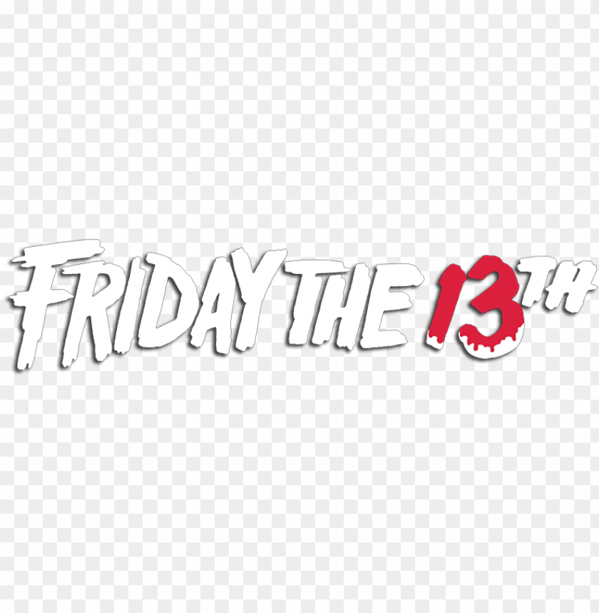 free PNG friday the 13th image - hd friday the 13th logo PNG image with transparent background PNG images transparent