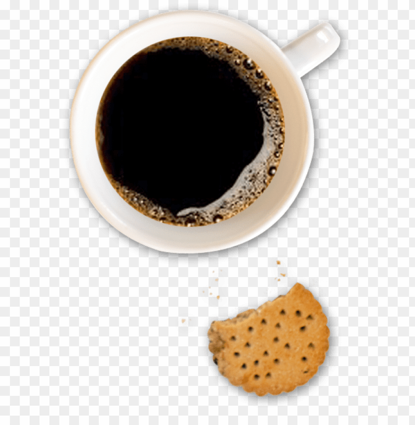 free PNG from the heart brochures coffee and biscuit - caffè png top view PNG image with transparent background PNG images transparent