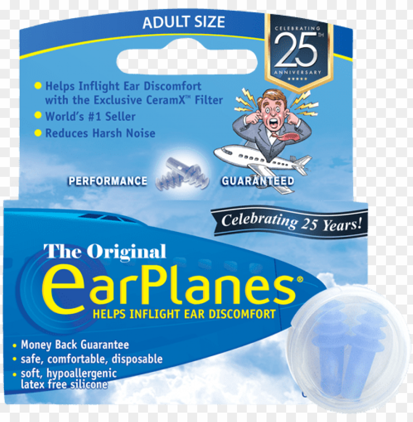 free PNG front of earplanes adult in-flight earplugs packaging - paper product PNG image with transparent background PNG images transparent