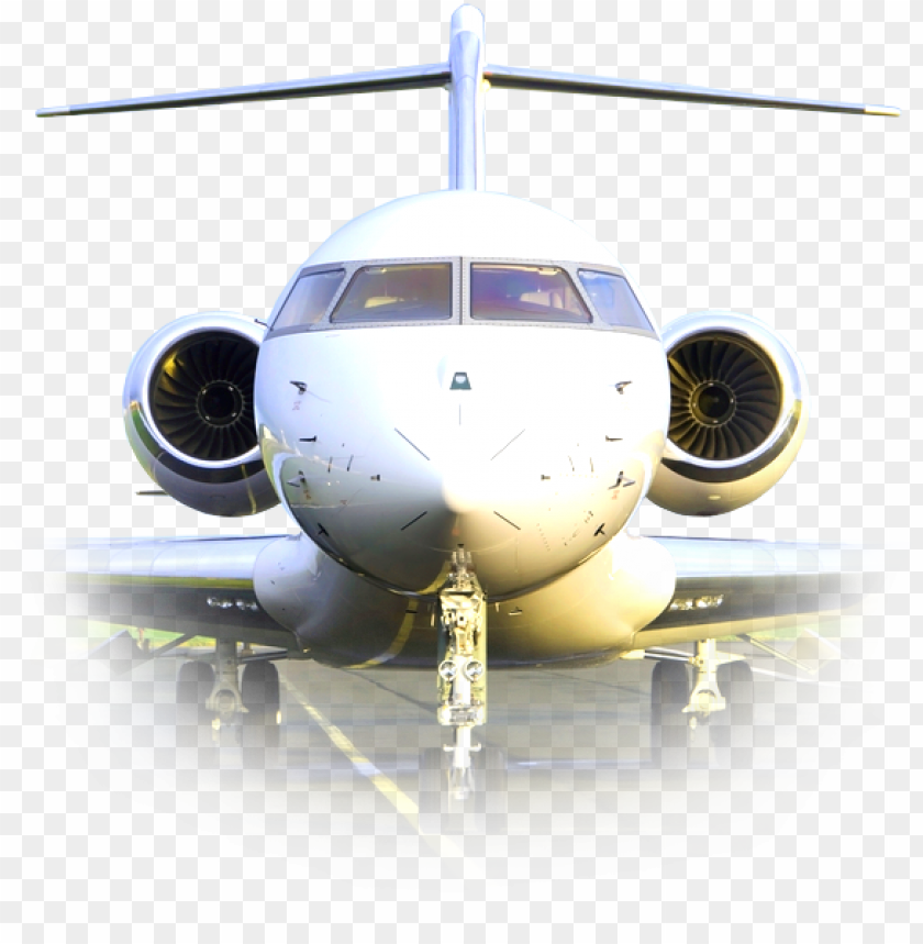 front of plane PNG image with transparent background@toppng.com
