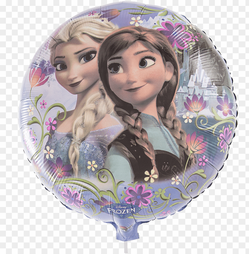 frozen anna & elsa - frozen happy birthday PNG image with transparent background@toppng.com