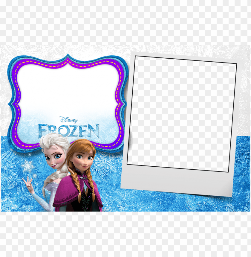 free PNG frozen birthday invitation - frozen anna & elsa poster PNG image with transparent background PNG images transparent
