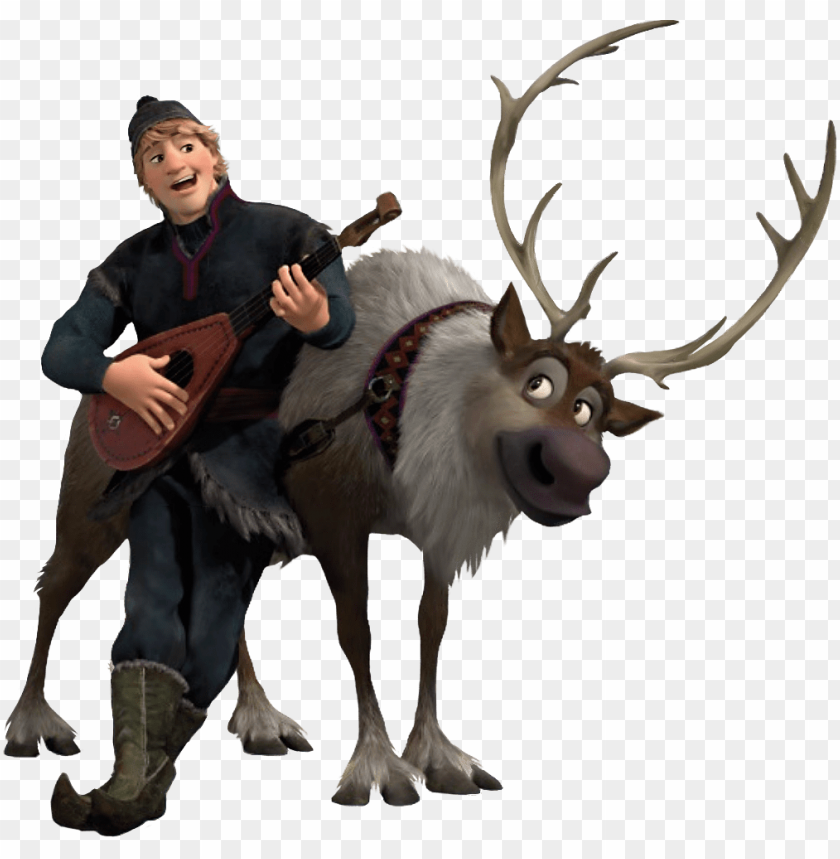 free PNG frozen sven png clipart - frozen kristoff e sve PNG image with transparent background PNG images transparent