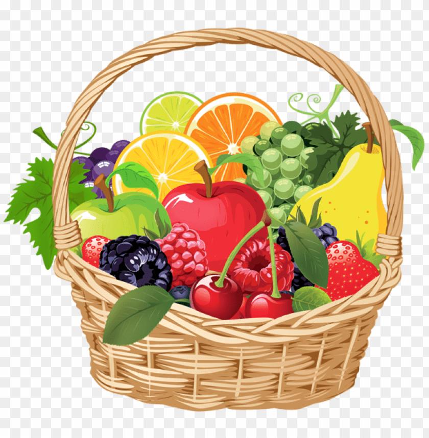 free PNG fruit basket png vector png - Free PNG Images PNG images transparent