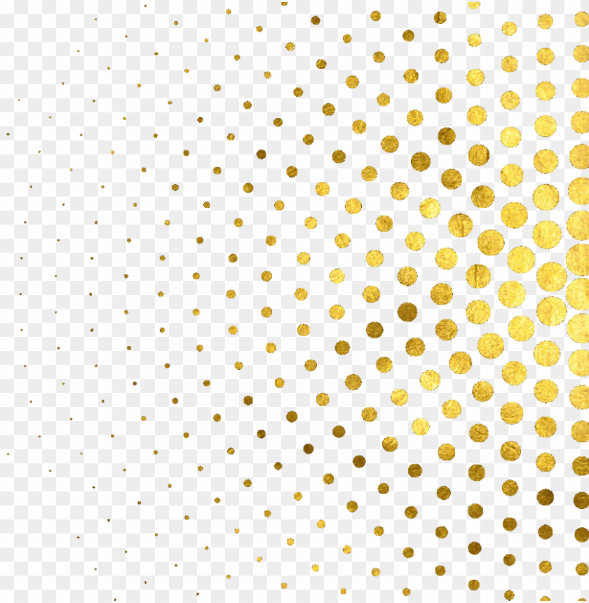free PNG ftestickers abstract dots golden goldglitter goldendots - polka dot PNG image with transparent background PNG images transparent