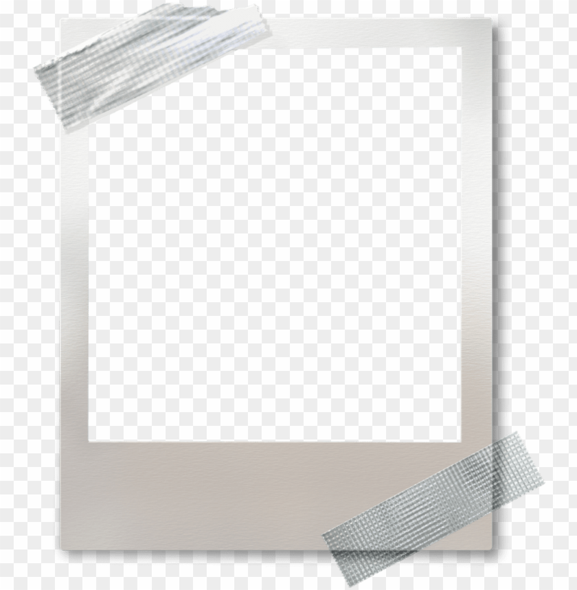 free PNG ftestickers frame polaroid tape white - picture frame PNG image with transparent background PNG images transparent