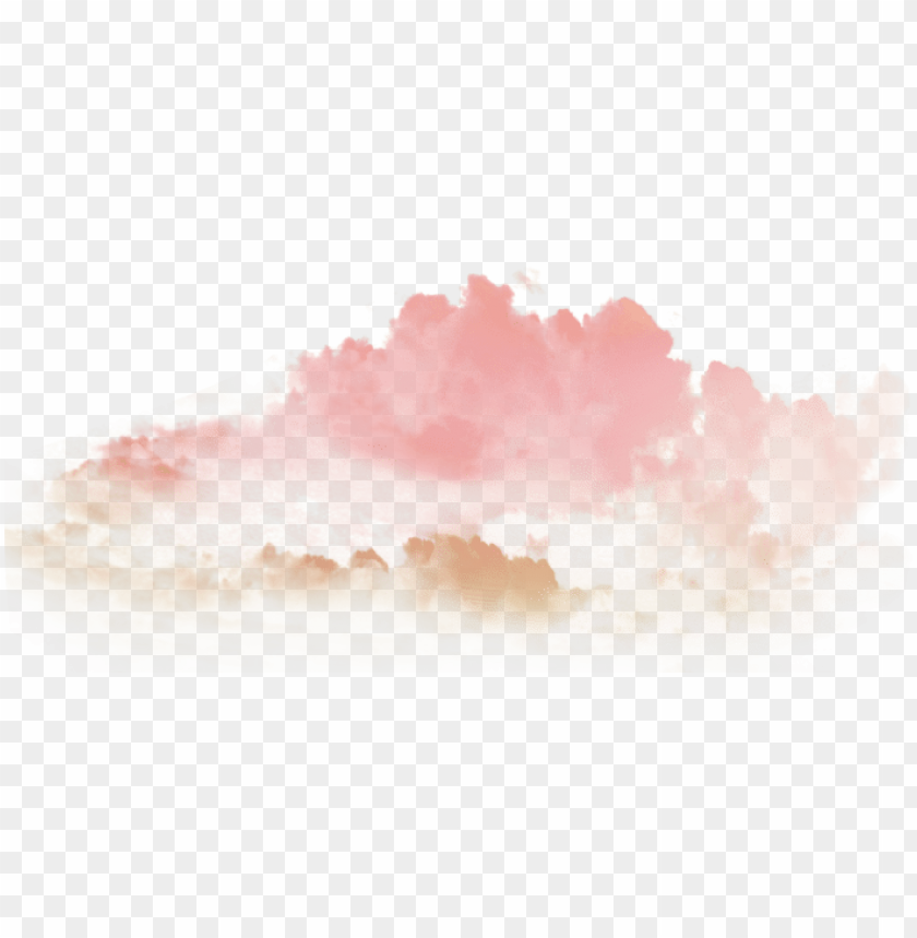 free PNG ftestickers fteclouds clouds tumblr cute lovely pink - cute transparent clouds PNG image with transparent background PNG images transparent
