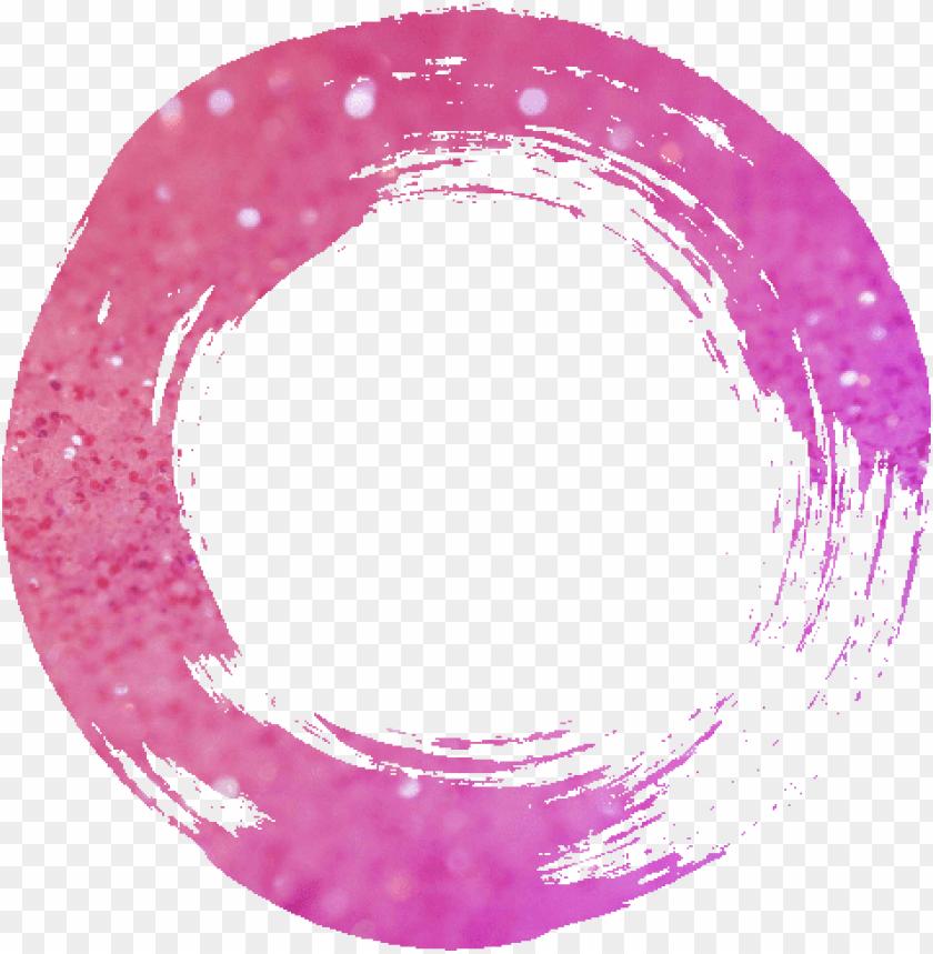 free PNG ftestickers paint frame glittertutorial glitter circle - pink glitter circle PNG image with transparent background PNG images transparent