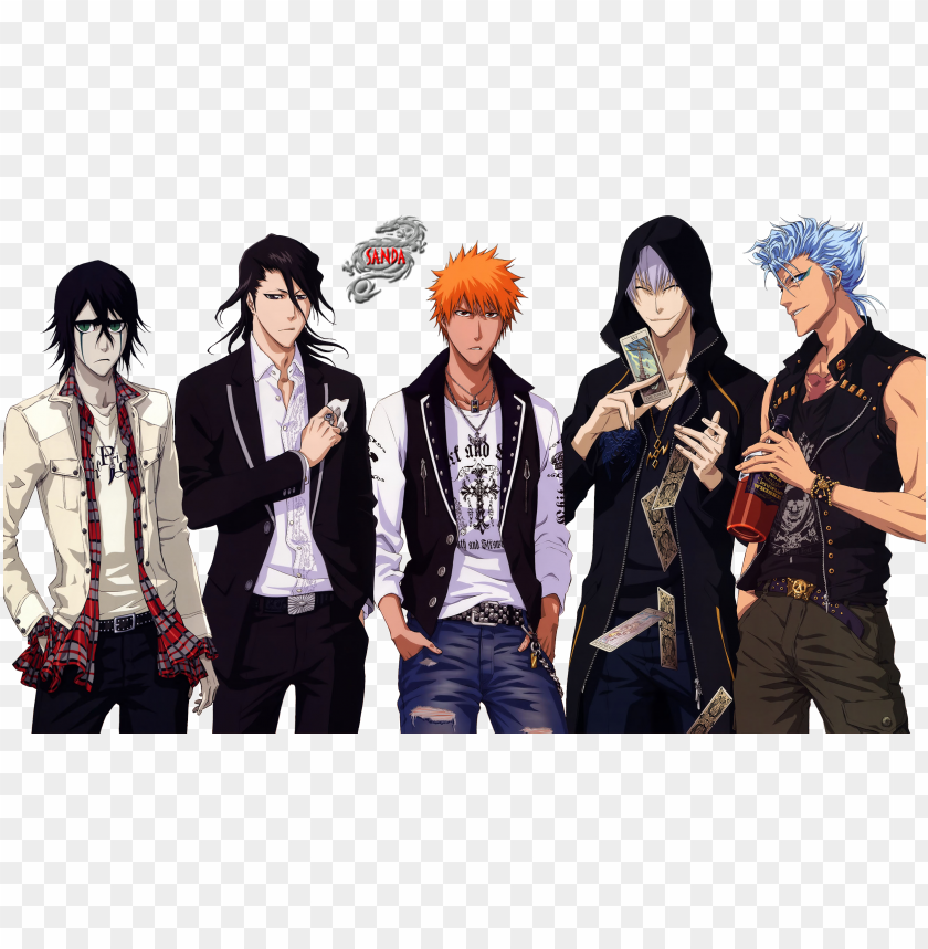 free PNG full size - bleach characters PNG image with transparent background PNG images transparent