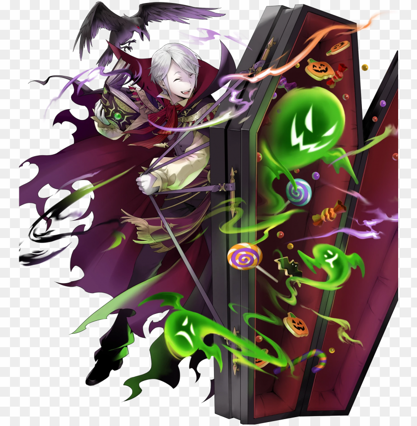 free PNG full special henry (1684×1920) - fire emblem heroes halloween henry PNG image with transparent background PNG images transparent