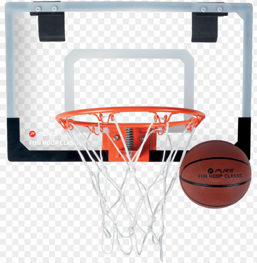 free PNG fun hoop classic - pure2improve fun hoop classic 46x30cm + basketball PNG image with transparent background PNG images transparent